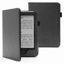 Чехол-книжка для Amazon Kindle Touch 2014 (AKT2014-ST01BL Standart) (черный)