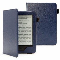 Чехол-книжка для Amazon Kindle Touch 2014 (AKT2014-ST01DBLU Standart) (темно-синий)