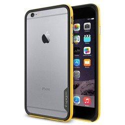 "Чехол-бампер для Apple iPhone 6 plus, 6s Plus 5.5"" (Spigen Neo Hybrid EX Series SGP11060) (желтый)"