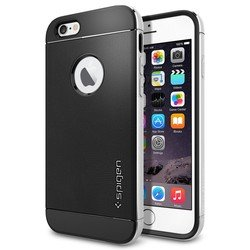Чехол-накладка для Apple iPhone 6 4.7 Spigen Neo Hybrid Metal Series (SGP11037) (серебристый)