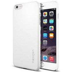 "клип-кейс для apple iphone 6 plus 5.5"" spigen thin fit series (sgp11101) (белый)"