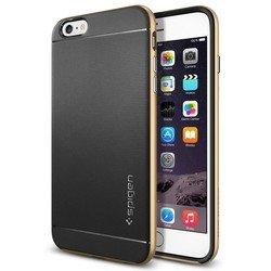 "Чехол-накладка для Apple iPhone 6 Plus, 6s Plus 5.5"" (Spigen Neo Hybrid Series SGP11068) (черный)"