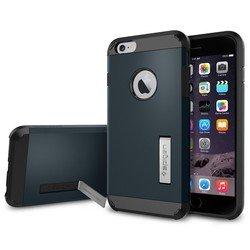 "Чехол-накладка для Apple iPhone 6 plus, 6s Plus 5.5"" (Spigen Tough Armor Series SGP10915) (металлический)"