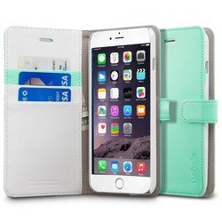 �����-��������� ��� apple iphone 6 plus 5.5 spigen wallet s case (sgp10920) (������)