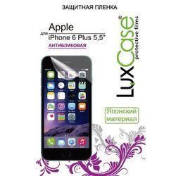 "защитная пленка для apple iphone 6 plus 5.5"" (luxcase) (front&back) (антибликовая)"