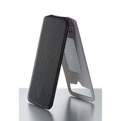 """Универсальный чехол-флип для телефонов 5.2-5.8"""" (iBox Uni-Flip YT000005977) (черный)"""
