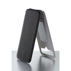 """Универсальный чехол-флип для телефонов 4.8-5.2"""" (iBox Uni-Flip YT000006002) (черный)"""