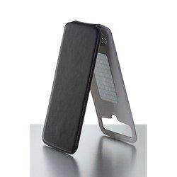 """Универсальный чехол-флип для телефонов 4.2-4.8"""" (iBox Uni-Flip YT000006003) (черный)"""