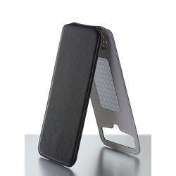 """Универсальный чехол-флип для телефонов 3.8-4.2"""" (iBox Uni-Flip YT000006023) (черный)"""
