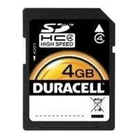 duracell sdhc class 4 4gb