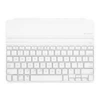 logitech ultrathin keyboard cover ipad air white bluetooth