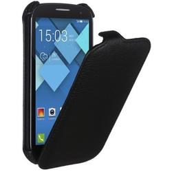 чехол-флип для alcatel one touch pop c7 7041d (shell esh-f-alc7041d-bl) (черный)