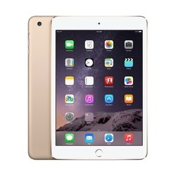 apple ipad mini 3 128gb wi-fi + cellular (золотистый) :::