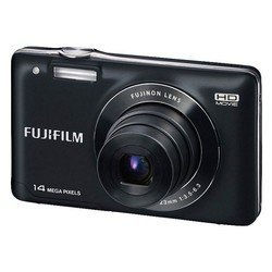 "photocamera fujifilm finepix jx520 black 14mpix zoom5x 3"" 720p sdhc ccd is el li-ion"