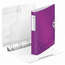 Папка-регистратор A4 на кольцах, полифом (Leitz Active WOW 42400062) (фиолетовый)