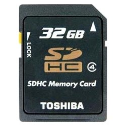 Toshiba SDHC класс 4, 32ГБ (SD-K32GJ)