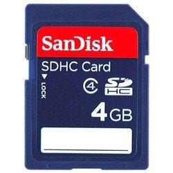 Sandisk SDHC Card 4GB Class 4 (SDSDB-004G-B35)