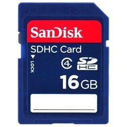 Sandisk SDHC Card 16GB Class 4 (SDSDB-016G-B35)