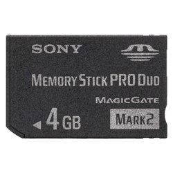 sony memory stick pro duo mark 2, 4гб (msmt4gt)