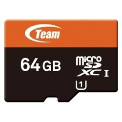 team group xtreem micro sdxc uhs-1 64gb + sd adapter