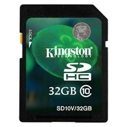 Kingston SD10V/32GB (SDHC 32GB class 10)