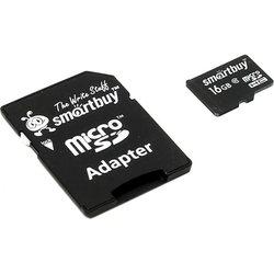 SmartBuy microSDHC Class 10 16GB + SD adapter