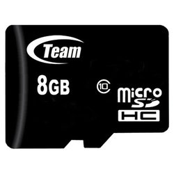 team group micro sdhc card class 10 8gb + 2 adapters
