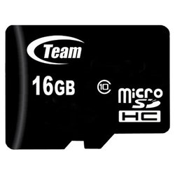 team group micro sdhc card class 10 16gb + 2 adapters