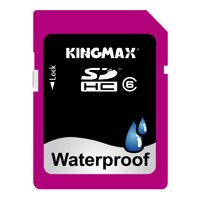 ��������� kingmax waterproof sdhc 32gb class 6