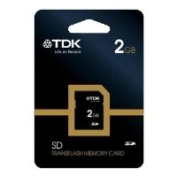 tdk secure digital 2gb