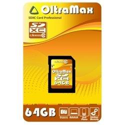 OltraMax  SDXC Class10 64GB