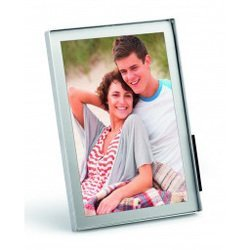 Магнитная рамка Durable Fotoframe Desk 10x15 4942-23 настольная прямоугольная серебристый