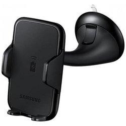 Автомобильный держатель для Samsung Galaxy Note 4 + беспроводное зарядное устройство (EP-HN910IBRGRU) (черный)