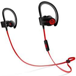 beats powerbeats2 wireless (mhbe2ze/a) (черно-красный)