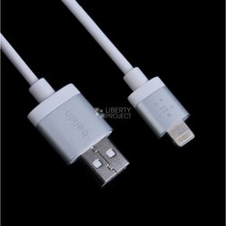 дата-кабель lightning - usb для apple iphone 5, 5c, 5s, 6, 6 plus, ipad 4, air, air 2, mini 1, mini 2, mini 3 (belkin av10025tt03) (усиленный, белый)