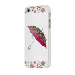 клип-кейс для apple iphone 5, 5s, se smartbuy bling umbrella (sbc-bling ip5s-u) (белый)