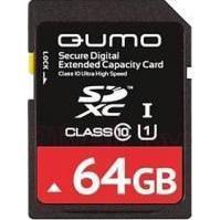 Qumo SDXC Class 10 UHS Class 1 64GB (QM64GSDXC10U1)