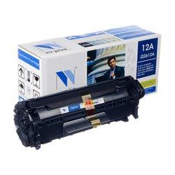 Картридж для HP LaserJet 1010, P1010, 1012, 1015, 1018, 1020, 1022, 1022N, NW, M1005MFP, 3015, 3020, 3030, 3050, 3052, 3055 (NV Print Q2612A_NVP) (черный)