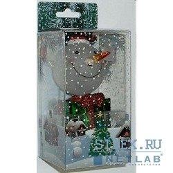 Новогодний сувенир USB (ORIENT NY5184) (веселый снежок с подарком)