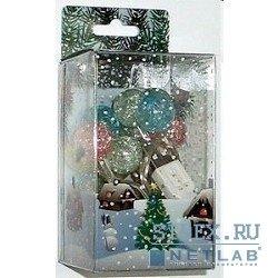 """Оборудование USB ORIENT NY1420 Светодиодные гирлянда """"Разноцветные шарики"""" ,  длина 2 м,  14 ламп - цветные шарики,  питание от USB"""