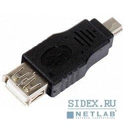 Переходник USB 2.0 AF - MINI 5P (VCOM CA411)