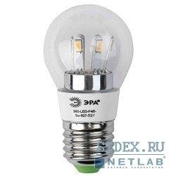 ������������ ����� ��� 360-LED P45-5w-827-E27 (������ ����)