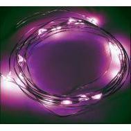 Новогодняя гирлянда 2м (NEON-NIGHT Роса 303-007) (розовый)
