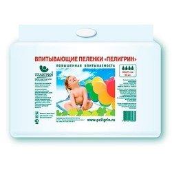 Пеленки впитывающие 60х75 см (Пелигрин SUPER 274) (30шт)