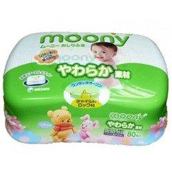 Детские влажные салфетки в контейнере (Moony 4903111-473908) (80 шт)