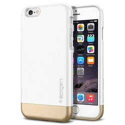 Чехол-накладка для Apple iPhone 6, 6s 4.7 (Spigen Style Armor SGP11048) (белый)