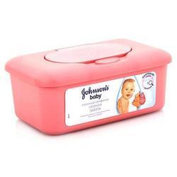 """Детские салфетки в контейнере (JOHNSON`s BABY """"Нежная забота"""" 5896302/7704601) (56шт)"""