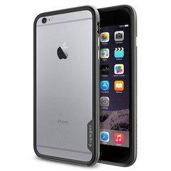 "Чехол-бампер для Apple iPhone 6 plus, 6s Plus 5.5"" (Spigen Neo Hybrid EX Series SGP11057) (стальной)"