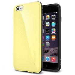 """Чехол накладка для Apple iPhone 6 Plus, 6s Plus 5.5"""" (Spigen Capella SGP11086) (лимонно-желтый)"""