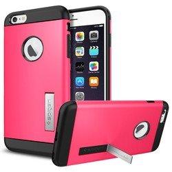 "Чехол-накладка для Apple iPhone 6 Plus, 6s Plus 5.5"" (Spigen Slim Armor Series SGP10908) (розовый)"